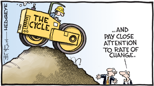 Cartoon of the Day: Steamroller, Baby - 04.04.2019 the cycle cartoon
