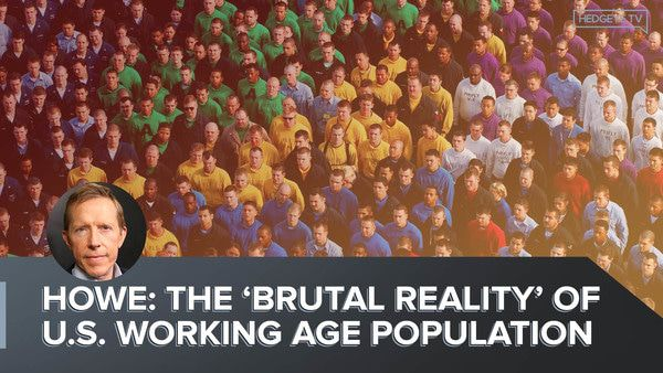 Howe: The 'Brutal Reality' Of U.S. Working Age Population - Demography Working Population 4.4.2019