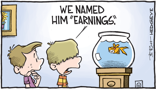 An Update On Earnings Season & Stock-Picking In #Quad3 - earnings cartoon 04.12.2016