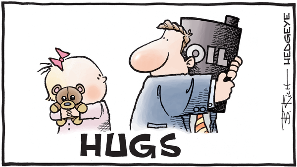 Cartoon of the Day - 04.30.2019 oil hug cartoon