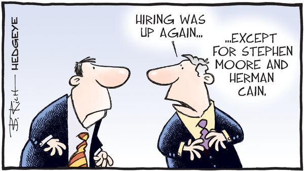 Cartoon of the Day: The April Jobs Report - 05.03.2019 jobs number cartoon
