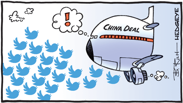 Cartoon of the Day: Flocking Tweets! - 05.07.2019 China Deal cartoon