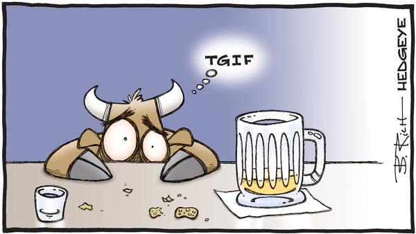 Cartoon of the Day: TGIF - 05.10.2019 TGIF bull cartoon