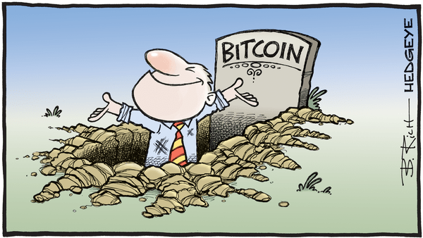 Cartoon of the Day: Surprise! - 05.15.2019 bitcoin cartoon
