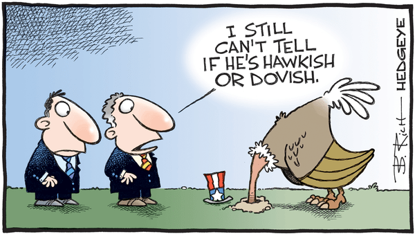 Cartoon of the Day: Bird Brain - 05.22.2019 hawkish dovish cartoon