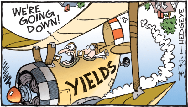 REPLAY: Bond Yields Are Going (A Lot) Lower - z 07.06.2018 yields going down cartoon