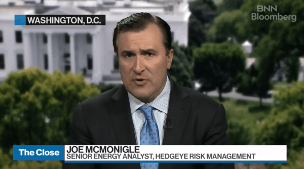 McMonigle: Geopolitical Risk Is Rising, Oil Market Get Ready - zoil