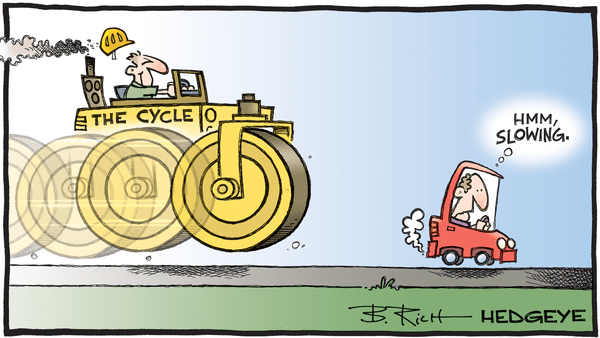 Cartoon of the Day: Steamrolled - 06.19.2019 the cycle meets slowing cartoon