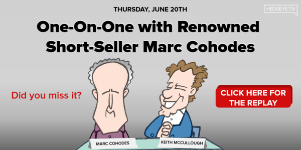 WEBCAST REPLAY: One-On-One With Renowned Short-Seller Marc Cohodes - Header replay