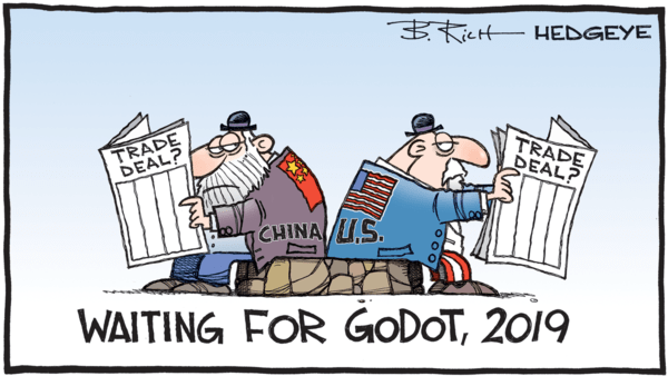 Far Worse Than Expected? - z 06.25.2019 Godot China trade deal cartoon