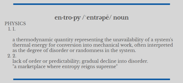 Entropy, Volatility and Deflation - zwa1
