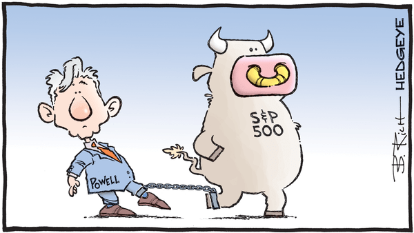 Powell Has Lost All Credibility  - hedgeye   fed   powell