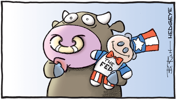 Cartoon of the Day: Baby Bull - 07.12.2019 baby bull security Fed