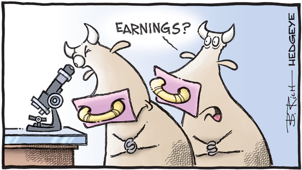 Sharpening the Axe - 07.15.2019 microscope earnings cartoon