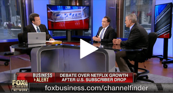 Andrew Freedman on Fox Business: Why I'm Short $NFLX - z hedgeye freedman 1