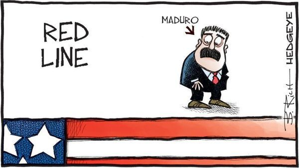 Venezuela: Chevron License Extension in Trouble With Secondary Sanctions Now More Likely - z maduro hedgeye
