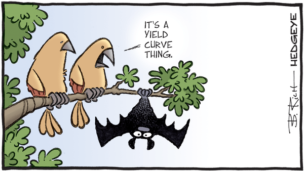 Cartoon of the Day: Inverted - 07.24.2019 yield curve cartoon