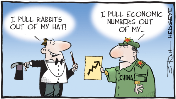 China's Big Gamble(s): Betting on QE Again? - z 10.22.2018 China cartoon