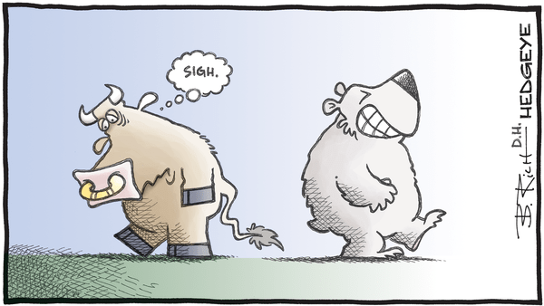Cartoon of the Day: Happy Bear - 08.02.2019 bear and sad bull