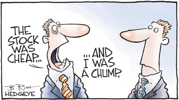 "The ""Stocks Are Cheap"" Myth - z hedgeye Cheap chump 01.07.2017"