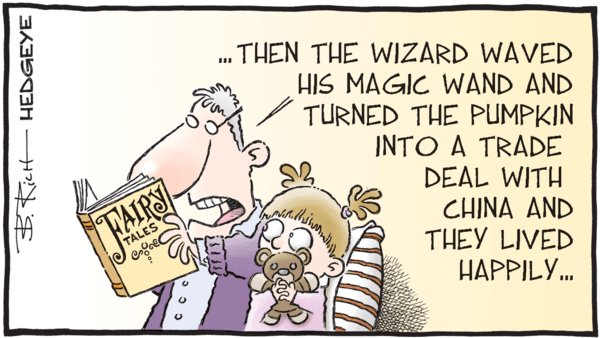 9 Tweets From Keith McCullough This Morning - z hedgeye 02.25.2019 China trade cartoon
