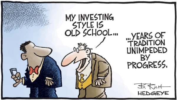#EarningsSlowing Not Priced In - 04.13.2018 old wall cartoon