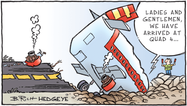 8 Tweets From Keith McCullough This Morning  - 11.19.2018 Quad 4 cartoon