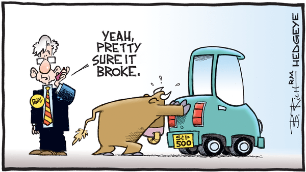 Cartoon of the Day: Call A Tow - 08.28.2019 Powell and S P 500 cartoon1