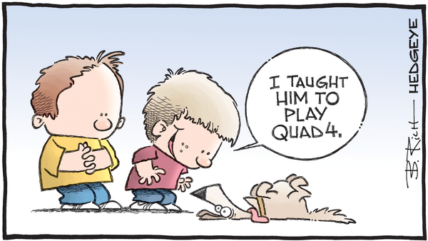 Cartoon of the Day: Play Dead - 08.30.2019 Quad 4 playing dead cartoon