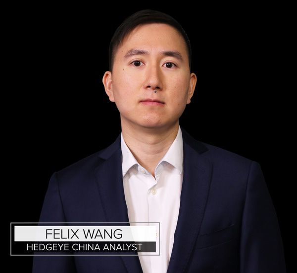 Hedgeye Analyst Felix Wang Launches Coverage On China - z FW G