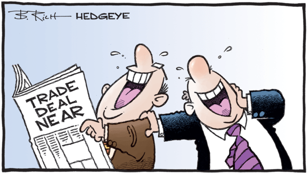 9 Tweets This Morning From Keith McCullough - 07.23.2019 trade deal laugh cartoon