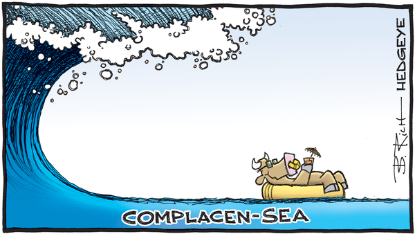 Cartoon of the Day: Complacen-Sea - 09.06.2019 complacent bull cartoon