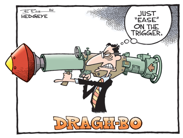 The New ECB QE Is A Mistake - Draghi cartoon 05.15.2015