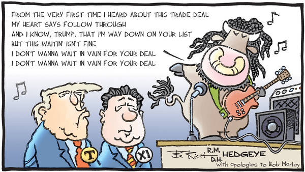 Cartoon of the Day: Rasta-Bull! - 09.23.2019 trade deal song cartoon FIX
