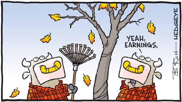 Cartoon of the Day: Autumn - 10.07.2019 earnings fall cartoon