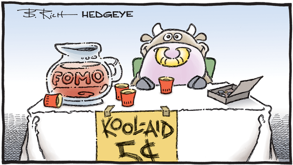 Cartoon of the Day: Thirsty? - 10.11.2019 FOMO kool aid cartoon