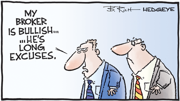 Cartoon of the Day: Bullish Advice - 10.16.2019 long excuses