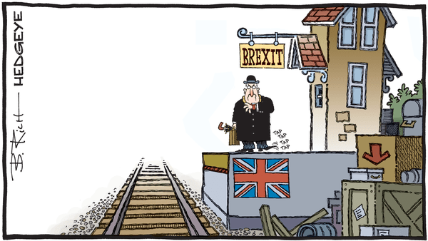 Cartoon of the Day: Running Late - 10.18.2019 Brexit cartoon