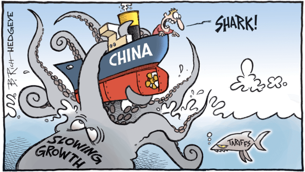 A Reality Check on Global Growth & Trade Deals - hedgeye 07.11.2018 China cartoon