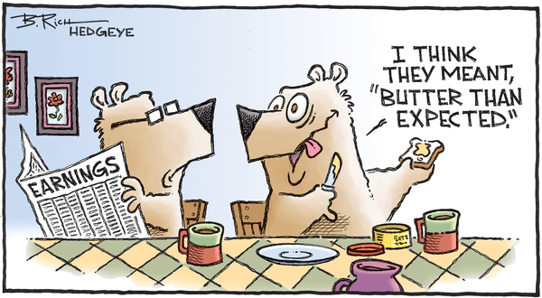 Cartoon of the Day: Buttered Up - 10.23.2019 earnings butter cartoon