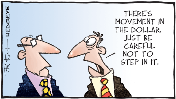 Cartoon of the Day: Watch Your Step - 11.04.2019 dollar movement cartoon