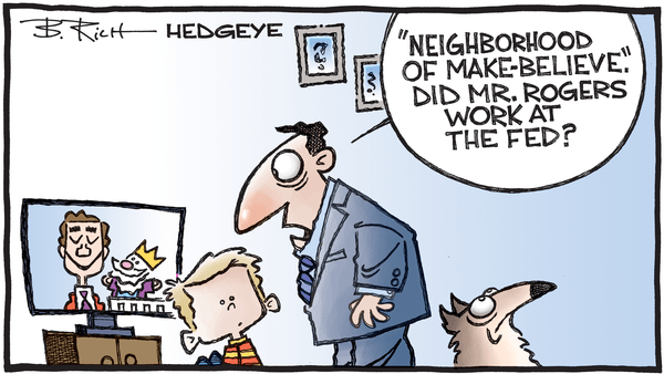 Cartoon of the Day: A Beautiful Day In the Neighborhood - 11.12.2019 Mr Rogers Fed cartoon