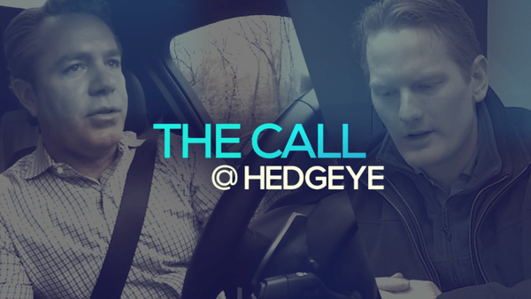 A Sneak Peek → The Call @ Hedgeye (11/20/19) - thecall