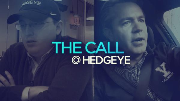 A Sneak Peek → The Call @ Hedgeye (11/21/19) - thecall2