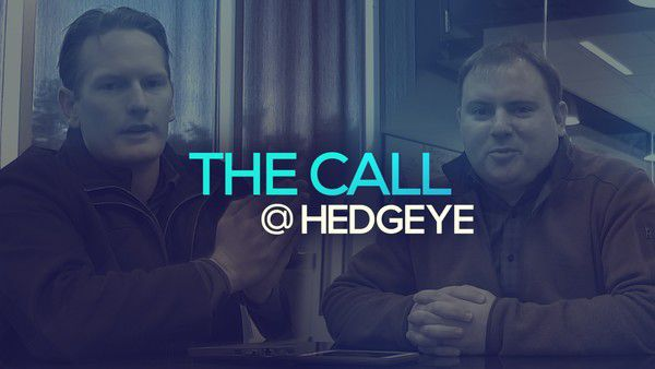 A Sneak Peek → The Call @ Hedgeye (11/26/19) - thecall5