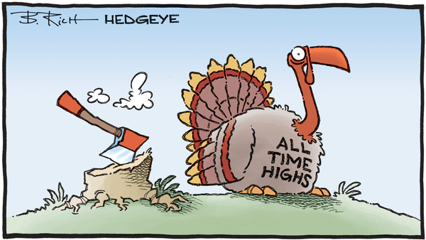 Cartoon of the Day: Dinnertime? - 11.27.2019 all time highs turkey cartoon