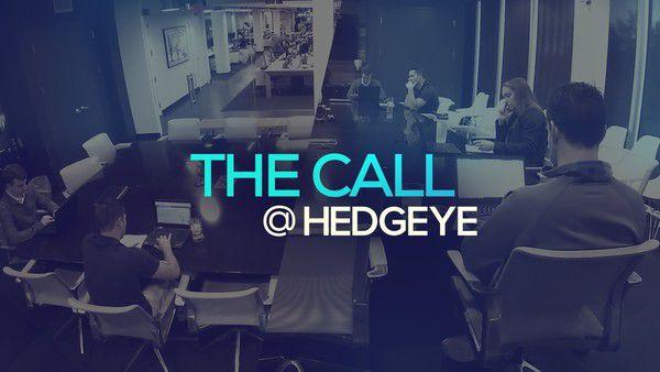 A Sneak Peek → The Call @ Hedgeye (12/6/19) - thecall11