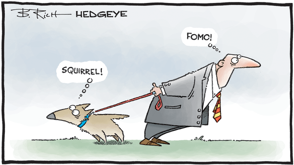 Cartoon of the Day: On A Leash  - 12.06.2019 FOMO squirrel cartoon