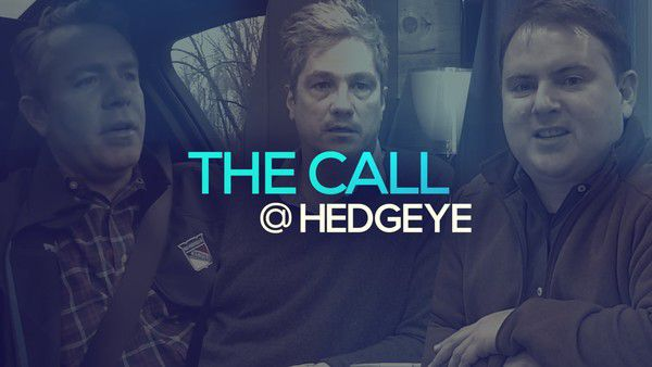 A Sneak Peek → The Call @ Hedgeye (12/10/19) - thecall12