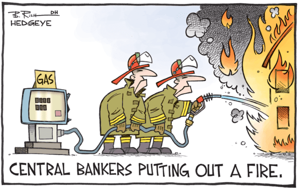 Escape from the Central Bank Trap - z hedgeye central bankers cartoon 09.08.2015